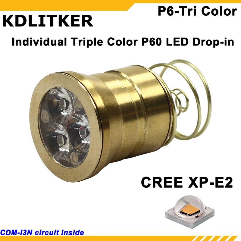 Xenon Flashlight 6v 6p Drop-in Module Bulb Replacement C2 G2 E2 T-6