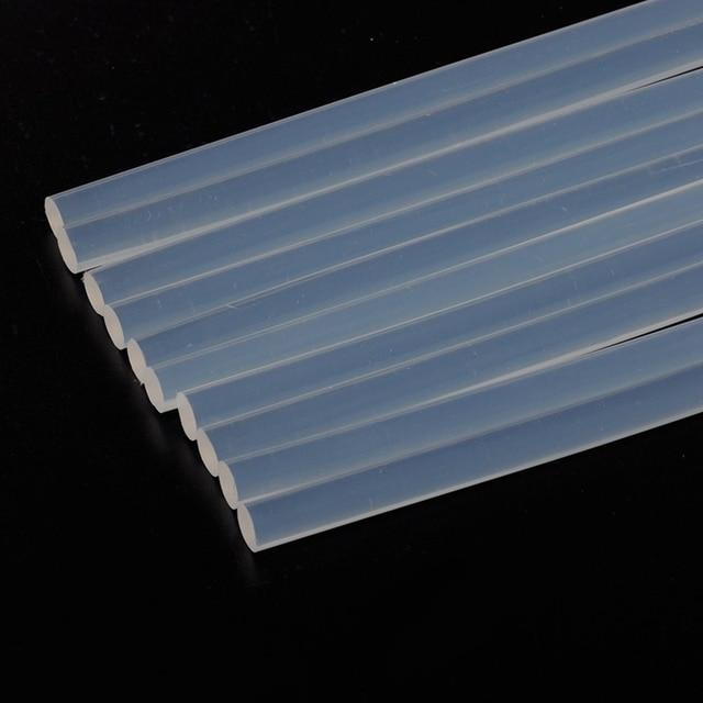 10 pcs 7mmx190mm Clear Glue Adhesive Sticks For Hot Melt Gun Car Audio Craft transparent For Alloy Accessories