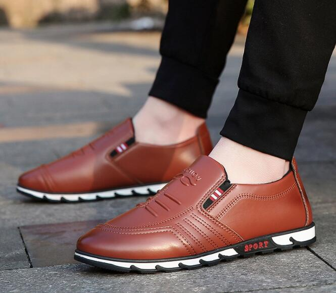 MFU22  2018 autumn new mens business casual shoes lazy casual shoesMFU22  2018 autumn new mens business casual shoes lazy casual shoes
