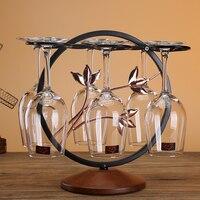 Creative Wine Rack Decoration Goblet Rack Hanging Upside Down Wine Glass Holder Home Decoration