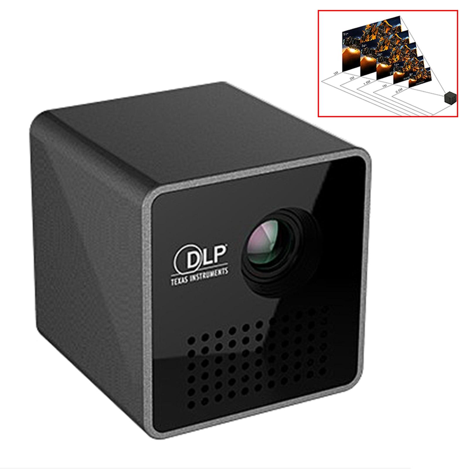 UNIC luxe Smart Pico sans fil Projecter Mini faisceau projecteur poche Home cinéma 1080 P HD LED DLP Support de projecteur Wiff