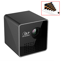 Unic P1 Pocket Home Movie Projector Proyector Beamer Mini DLP Projector Mini Projector Wireless WIFI