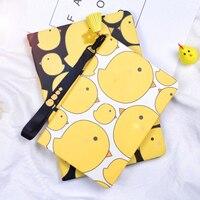 For Ipad2 Ipad3 Ipad4 Cartoon Cute Chicken Leather Case Smart Cover For Apple IPad 2 3
