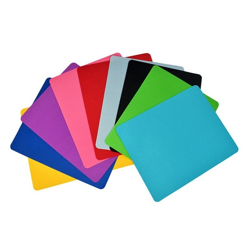 Anti-Slip Rubber Mouse Pad 5 Colors Mouse Pads