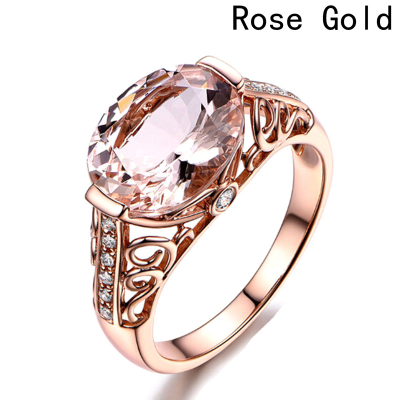 Ring Morgan Morgan Rose Gold Ring Orange Pink