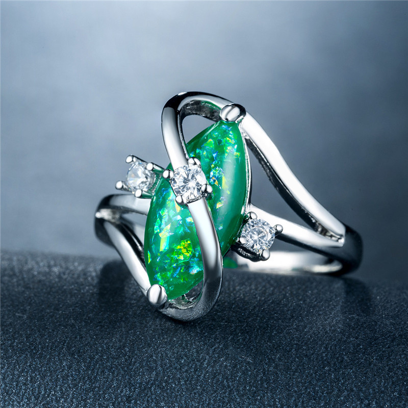 925 silver jewelry ring Diamond ring costume jewelry Butterfly ring Stainless steel jewelry sapphire ring emerald Crystal B1363 in Rings from Jewelry Accessories