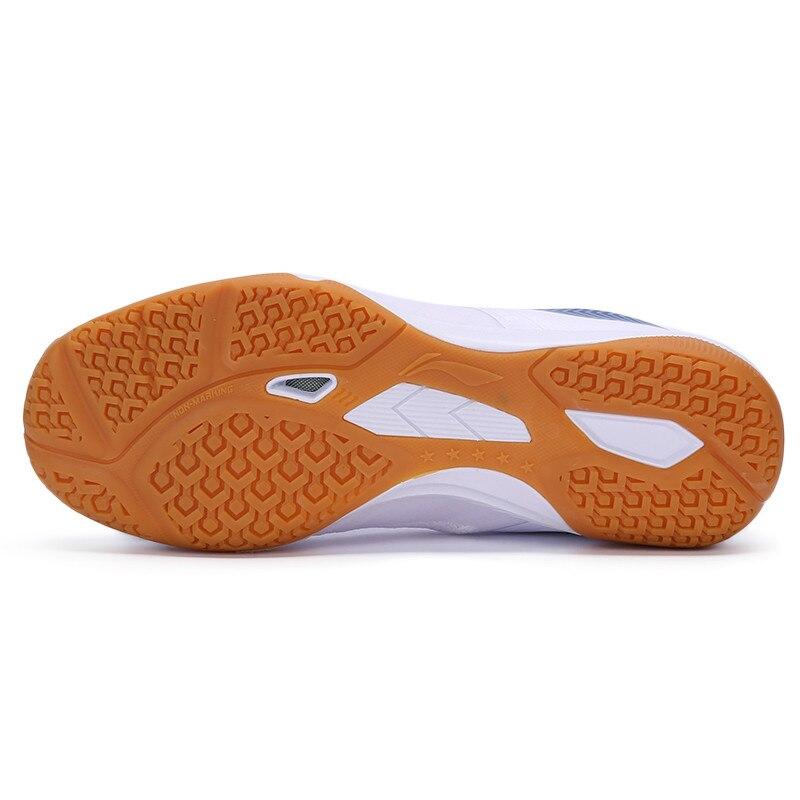 Новинка, Li-ning, мужская сборная обувь для настольного тенниса, анти-скользкая эластичная лента, профессиональные спортивные кроссовки