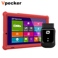 VPECKER E1 Professional OBD2 Auto Scanner Easydiag ABS DPF Oil Reset Wifi Full System OBDII Diagnostic Tool With 10 Inch Tablet