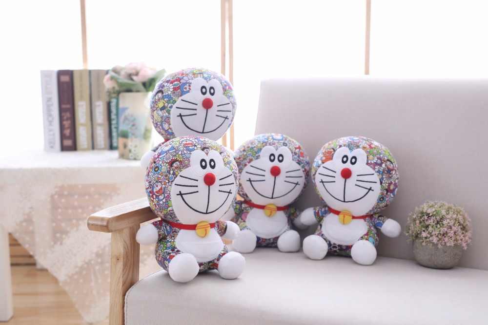 Hot25cm/35 cm Doraemon De Pelúcia Brinquedo do bebê Gato Kawaii Doraemon Boneca de Brinquedo Macio Brinquedo Do Bebê Bichos de pelúcia Travesseiro Crianças amigos presentes presentes