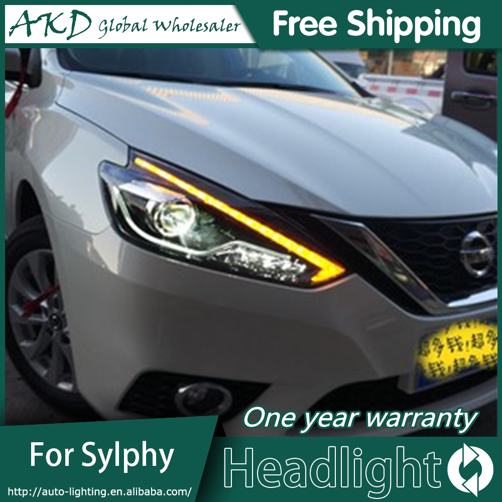 Akd Car Styling Head Lamp For New Nissan Sylphy Headlights 2016 2018