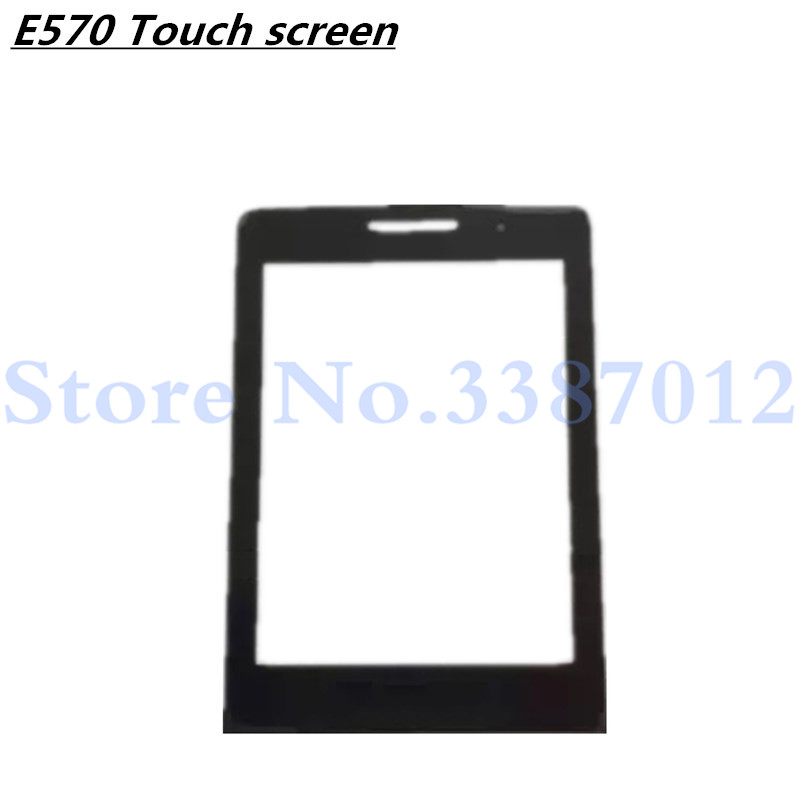 2.8 inch Front Glass Lens For <font><b>PHILIPS</b></font> <font><b>E570</b></font> E571 Glass lens Not Touch Screen With Tracking Number image