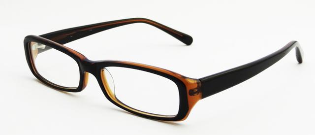 2014 alta calidad hecha a mano de los vidrios ópticos acetato borde completo gafas para hombre S1106