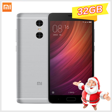Original Xiaomi Redmi Note 4 3GB RAM 32GB ROM smartphone MTK Helio X20 Deca Core Note4 1080P MIUI8 Fingerprint ID phones