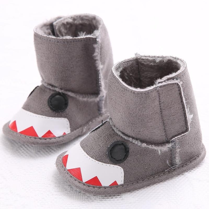 Boys Baby Funny Boots bebe Girl Non slip Warm Snow Booties