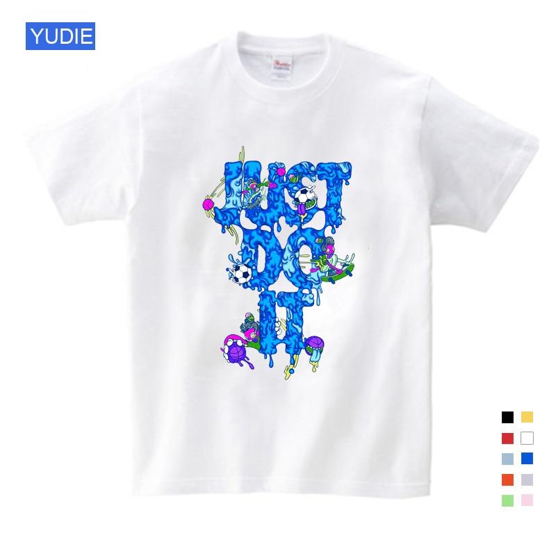 2019 As Crianças Os Melhores Vendedores Engraçado Roupas Menino T Camisa Das Meninas T Camisa Personalidade Impresso Crianças Verão Hip Hop Anime T camisa