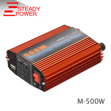 500W modified sine wave inverter 12v 24v dc to 220v ac 50HZ 60hz converter / peak power 1000w car invertor