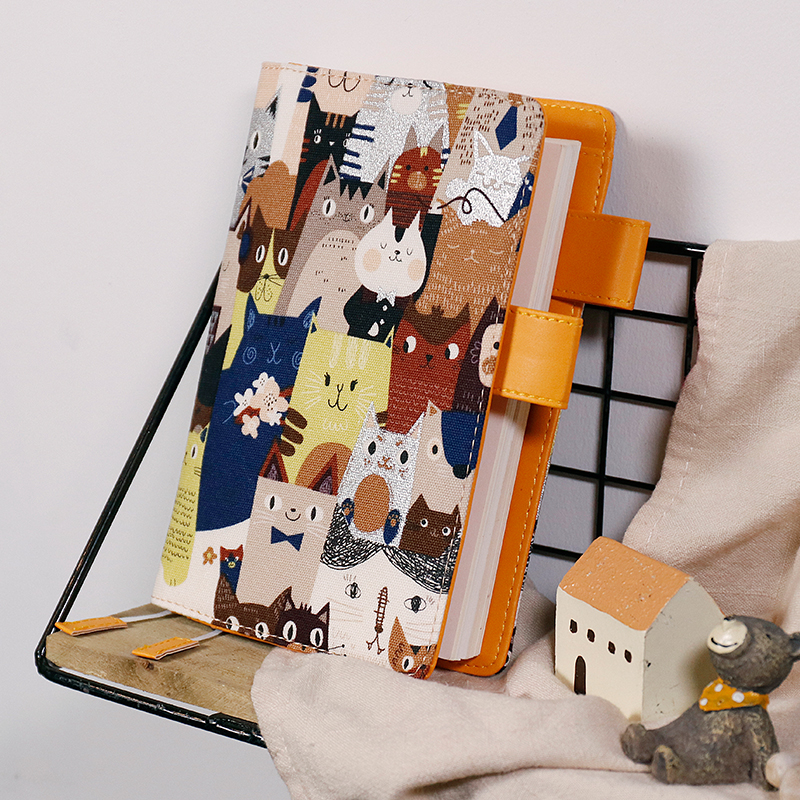 Japan Limited Edition Diary Cover A5 A6 Hobonichi Journal Style Farbic Softcover 1 Piece 2018 Summer New