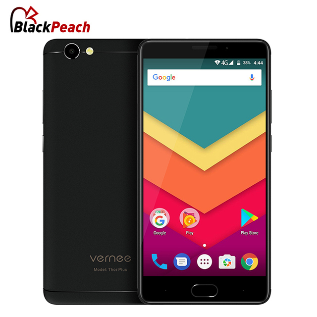 Vernee Thor Plus Smartphone 5.5 inch AMOLED Octa Core Android 7.0 3GB RAM 32GB ROM 13MP Cam 6200mAh 4G Fingerprint Mobile Phone