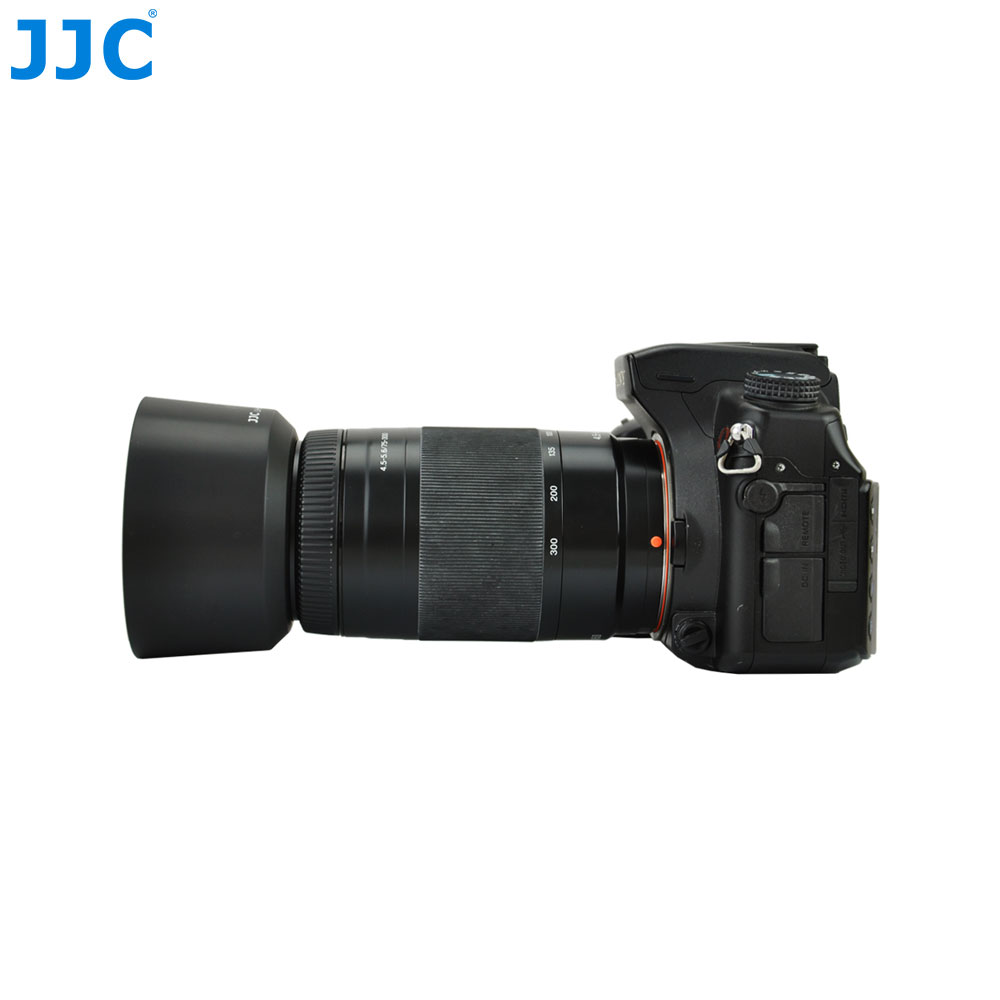Jjc Lens Hood Tube For Sony 75 300mm F  6 100mm F 2 8 Lens Replaces Alc Sh0007 In Camera Lens Hood From Consumer Electronics On Aliexpress Com