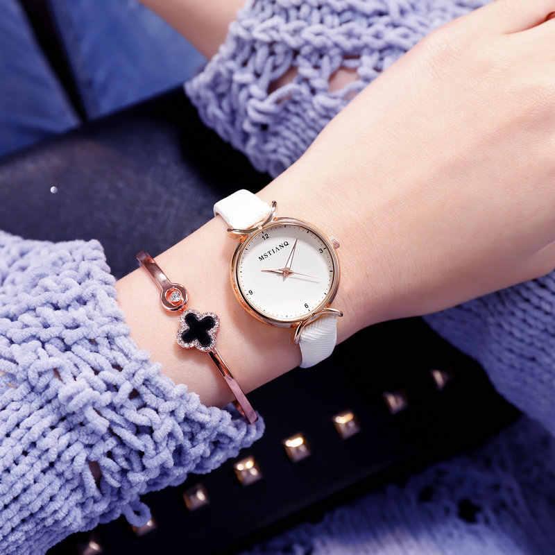 Минимализм простые ультра тонкие женские кварцевые часы изысканные уникальные тонкие женские маленькие Платья повседневные наручные часы женские OL часы
