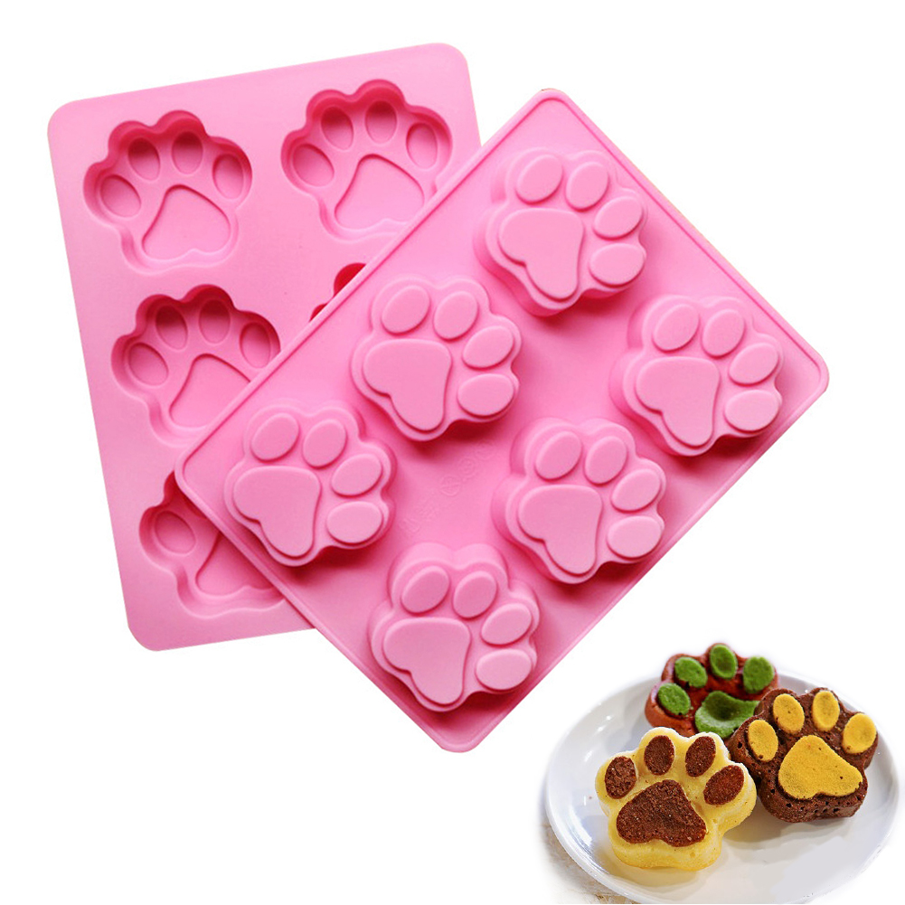 Inventive Baby Set Silicone Cake Mold Fondant Feet Mold Cake Decoration Footprint Handprint Baking Moulds For Bakeware Durable In Use Bakeware