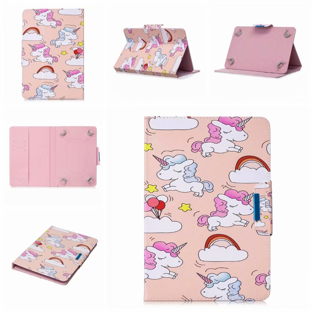 Cartoon For Huawei M3 10 Universal Case For Huawei Mediapad T1 T2 T3 10.0 Pro / M2 M3 10.1 / M5 10.8 Inch Tablet Stand Cover+Pen