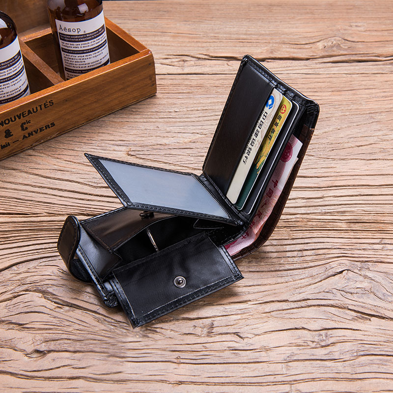 HTB11UTtu3mTBuNjy1Xbq6yMrVXai - Baellerry Leather Vintage Men Wallets Coin Pocket Hasp Small Wallet Men Purse Card Holder Male Clutch Money Bag Carteira W066
