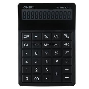 2016 nowy marka komputer klucz biuro elektroniczny kalkulator tanie i dobre opinie Deli Biuro typu handlowego Other SOLAR 1580 office gift