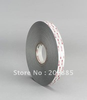 100% Original 3M VHB 4936 double sided acrylic foam adhesive tape,15mm*33M, 0.64mm thickness 40roll/ lot we can offer other size