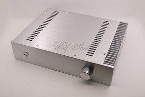 Image 1 - BZ3207C כסף מארז אלומיניום מלא מגבר מארז מיני AMP תיבת חד צדדי רדיאטור מקרה