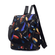 Большой перьевой емкости ретро рюкзак альпинистская Ткань Оксфорд сумка спортивная тренировочная сумка дизайн сумка J12