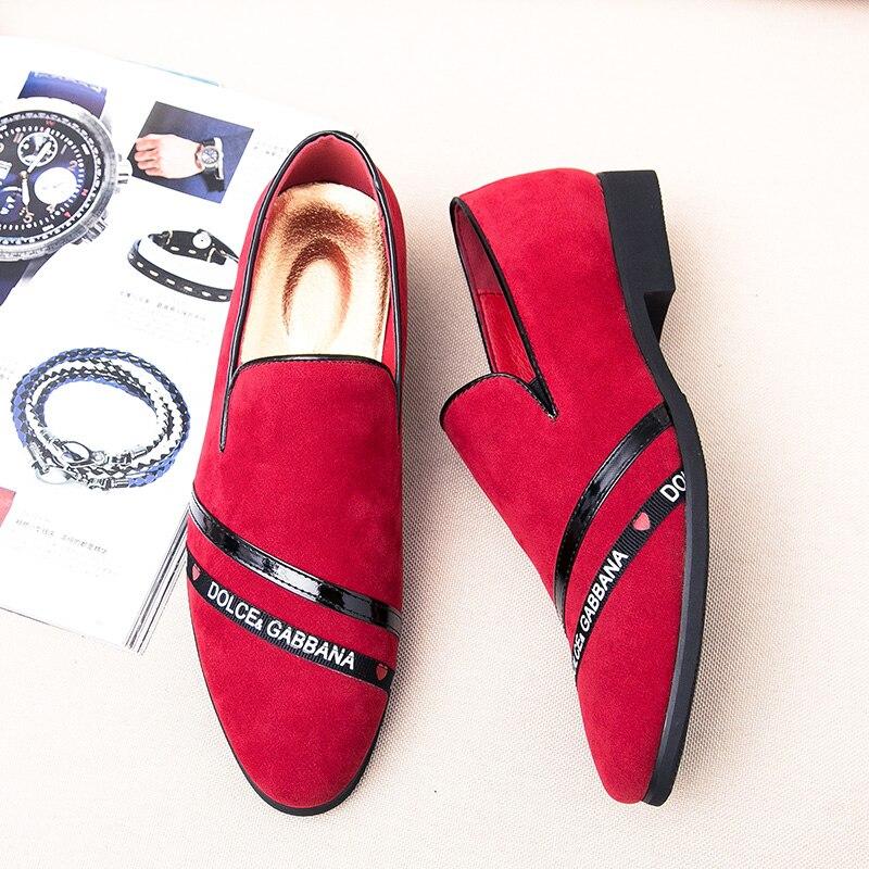 Grife red Masculina Loafer vermelho Quality Para Andando Preto Calçado Sapatos Masculino Casuais Confortáveis De Tênis Moda Top Homens Black AqZwU1U