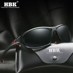 HBK Men Sports Polarized Sunglasses Ligh