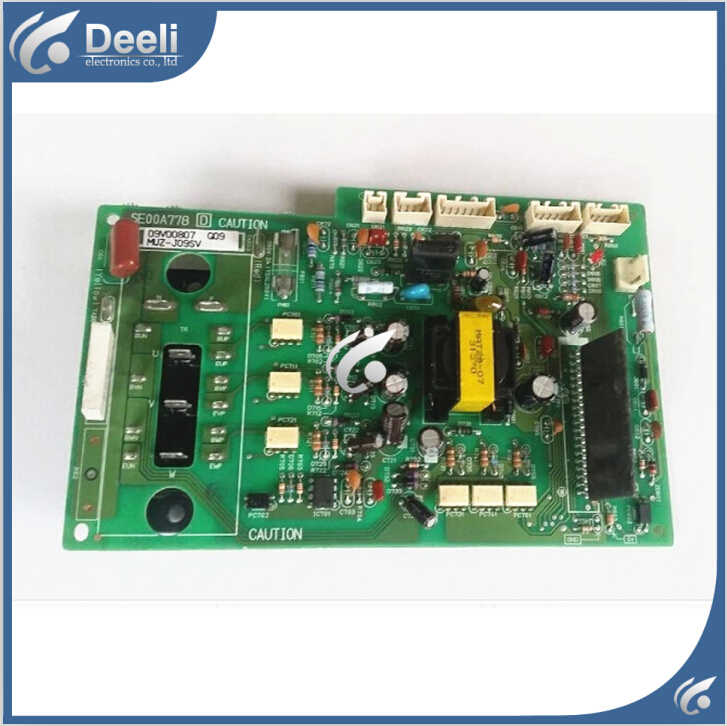 95% new good working for air conditioning computer board Module Frequency Board SE00A778 MUZ-J09SV 95% new used for air conditioning variable frequency board module board me power dip dzmk computer board good working