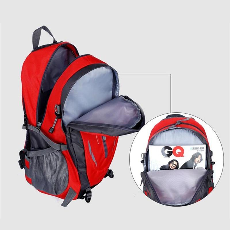 Hot Sale Nylon Black Backpack Waterproof Men's Back Pack Laptop Mochila High Quality Designer Backpacks Male Escolar S091 #4