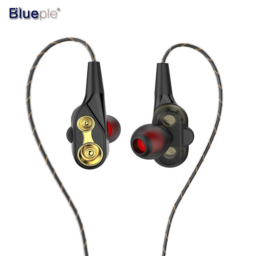Blueple In Ear Earphone with Microphone HiFi Earphone 3.5mm Earbuds Flexible Cable Earphone with Mic for xiaomi mp3 player fumalon sports earphone running with mic for mp3 player mp4 mobile phones in ear earphone sound isolating earphone