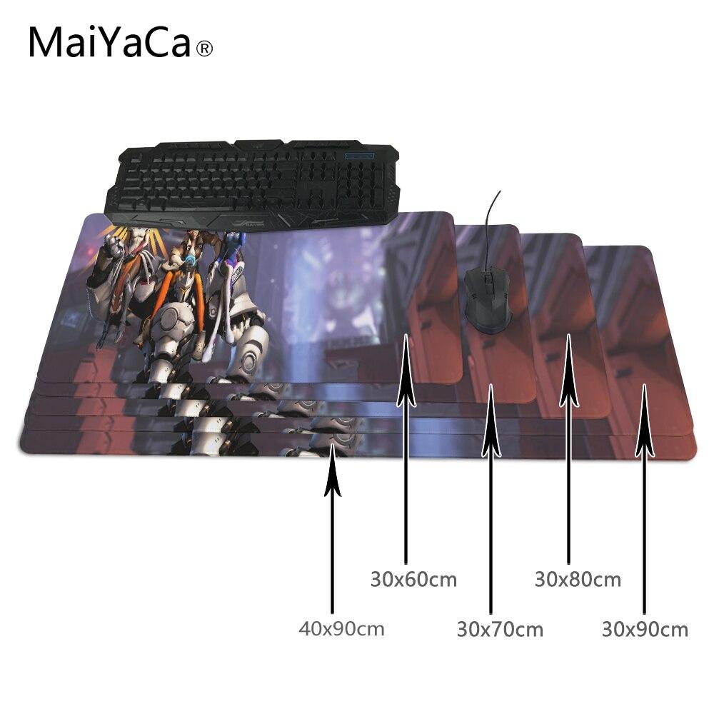 Maiyaca горячей моды большой игровой рейнхардт и D ва DIY Дизайн узор компьютер Мышь игровой коврик Мышь Pad Тетрадь Мышь pad