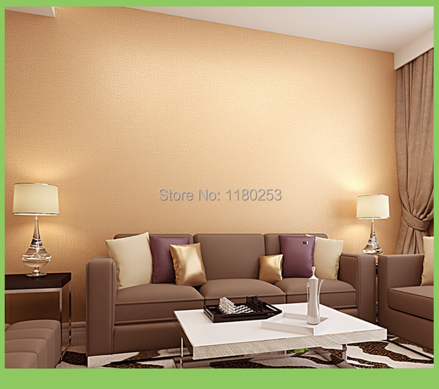 sia home decoration wallpaper roll non woven solid color wall paper
