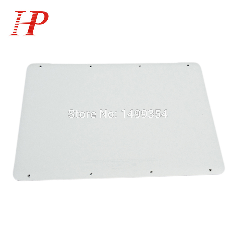 New 2009 2010 Year 604-1033 White A1342 Lower Case For Apple Macbook Unibody 13'' A1342 Bottom Cover Case MC207 MC516 brand new for macbook pro 13 a1278 lower bottom case cover battery door back cover 2009 2010 2011 2012 year