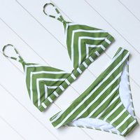 Strapless Swimwear Women Bikini Set Padded Swimsuit Push Up Sexy Bikini Beachwear Bathing Suit Women S