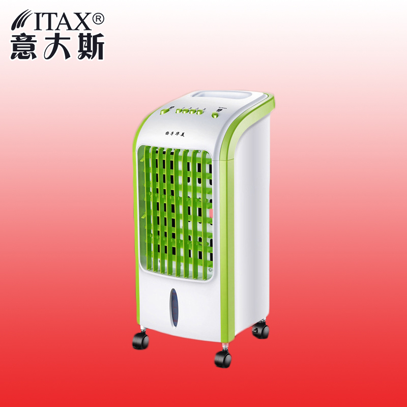 цена на Air Conditioning Fan Cooling Machine Ice Crystal Small Air conditioner Mute Household Removable Portable Fan With Wheel ITAS2018