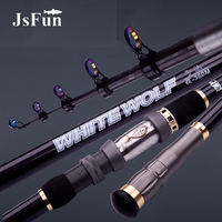 2.1m 2.4m 2.7m 3.0m High Carbon Fishing Rod Telescopic Casting Spinning Fishing Rod Travel Fishing Tackle YG26