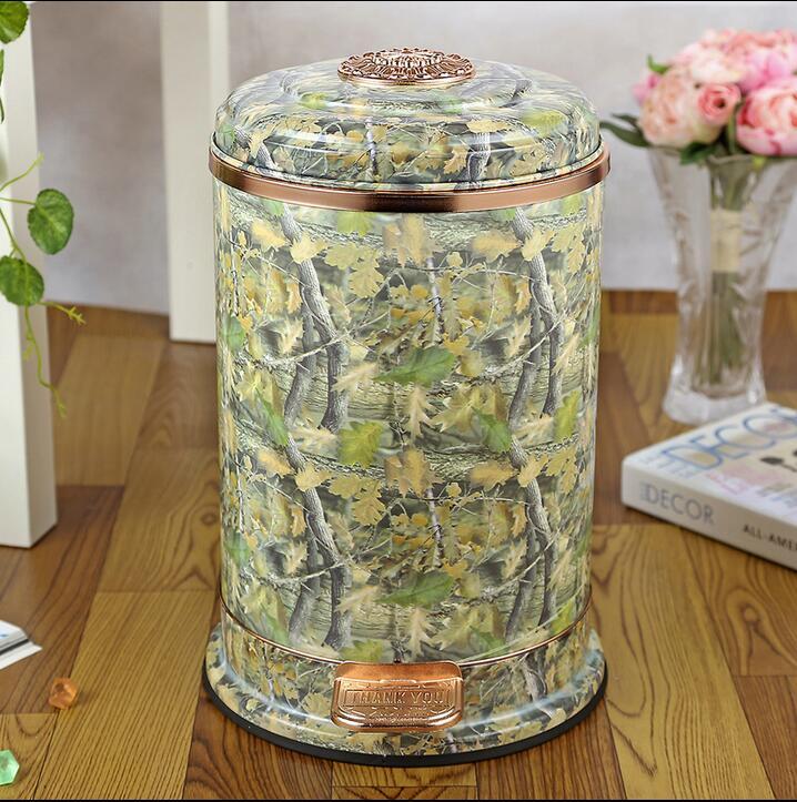Роскошный european10l из нержавеющей стали, металлические мусорные баки кухня корзина для мусора ведро мусорное ведро кухня для HOMEDECOR ljt030