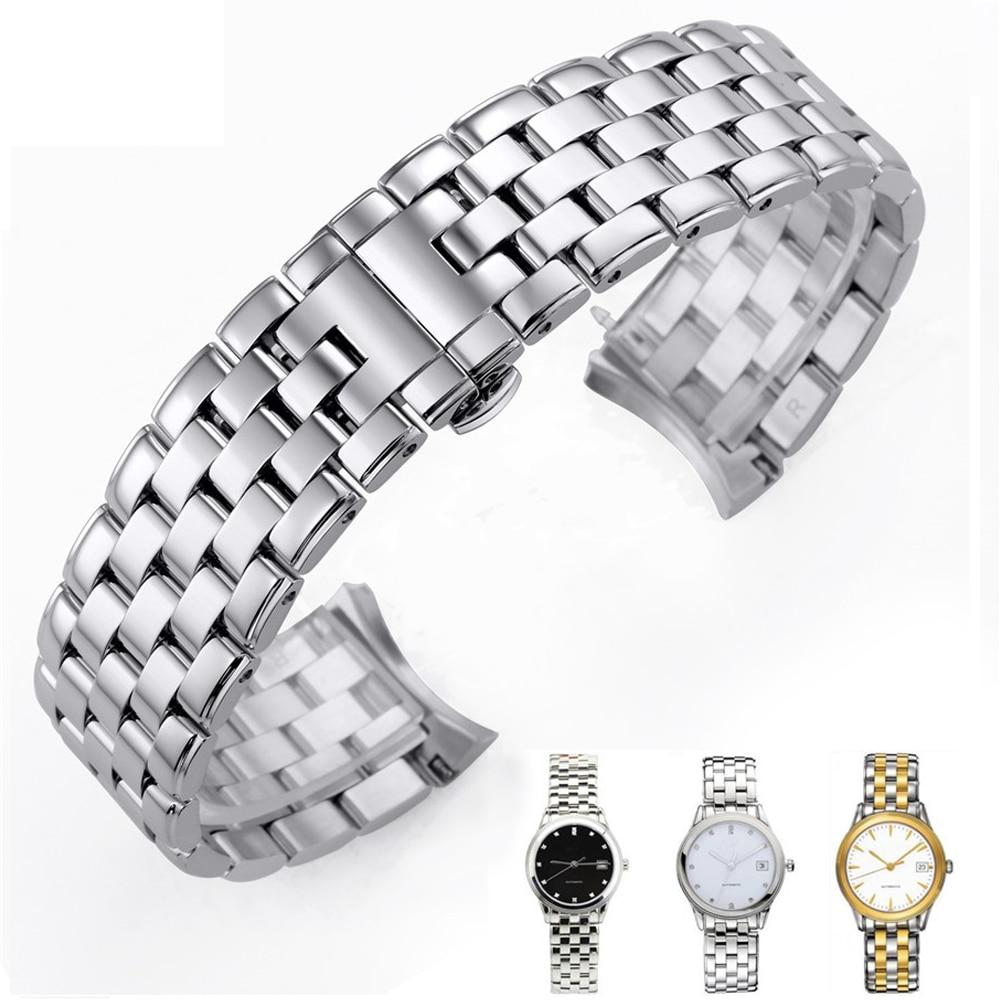 лучшая цена Watch accessories ensign series L4 special watchband type stainless steel bracelet watch chain