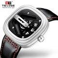 Часы Tevise мужские  автоматические  механические  спортивные  с самообмоткой  квадратные  наручные часы для мужчин