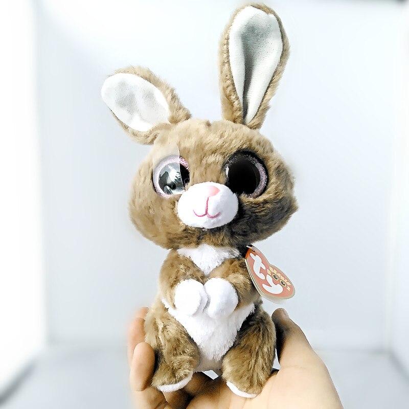 Ty Beanie Боос Twinkle Toes кролика плюшевые 6 шапочка для малышей плюшевые Коллекционная мягкие большие глаза плюшевый кролик игрушки куклы S95 ...