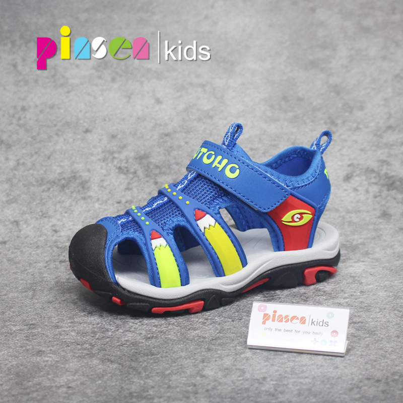 2018 NEW Brand Kids Ssandals For Boys Children Shoes Summer Fashion High Quality Leather Shoes Sandals