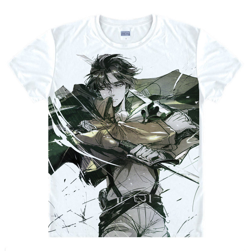 Attack on Titan T-Shirt Mikasa Ackerman Shirt High Quality T-Shirts anime gift cute gift Womens Printed T Shirts christmas a