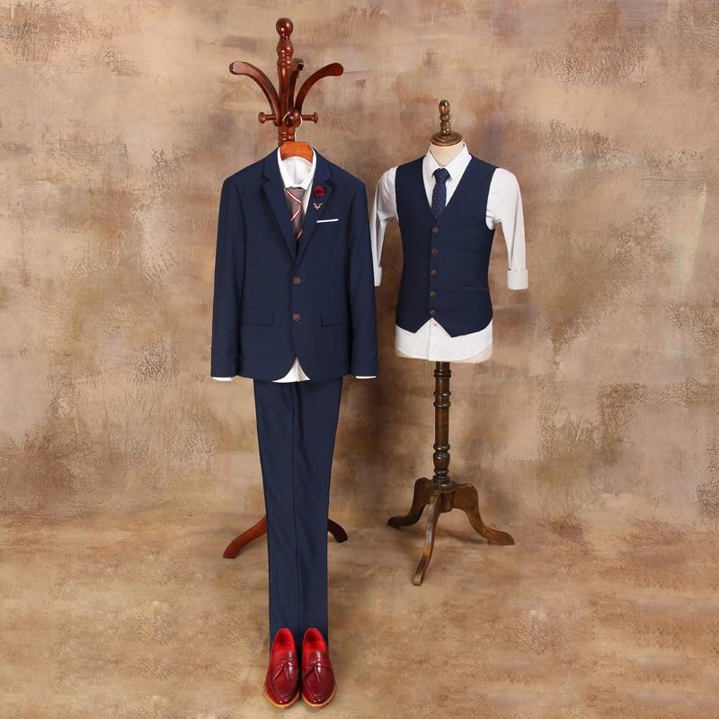 Kostume të cilësisë së mirë për burra 2019 Mashkull Blazer i - Veshje për meshkuj - Foto 3