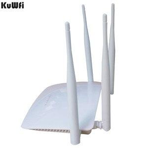 Image 2 - 300 mb/s QCA9531 wysokiej mocy Router bezprzewodowy AP WIFI silny sygnał wsparcie Firewall VPN QoS DHCP z portem USB 4 * antena 3dbi